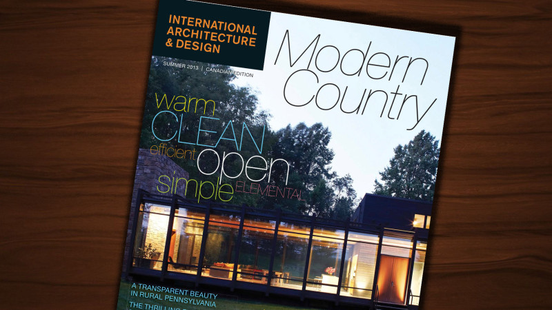 Free Subscription to International Architecture and Design Magazine